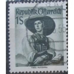 Rakouská známka 1S