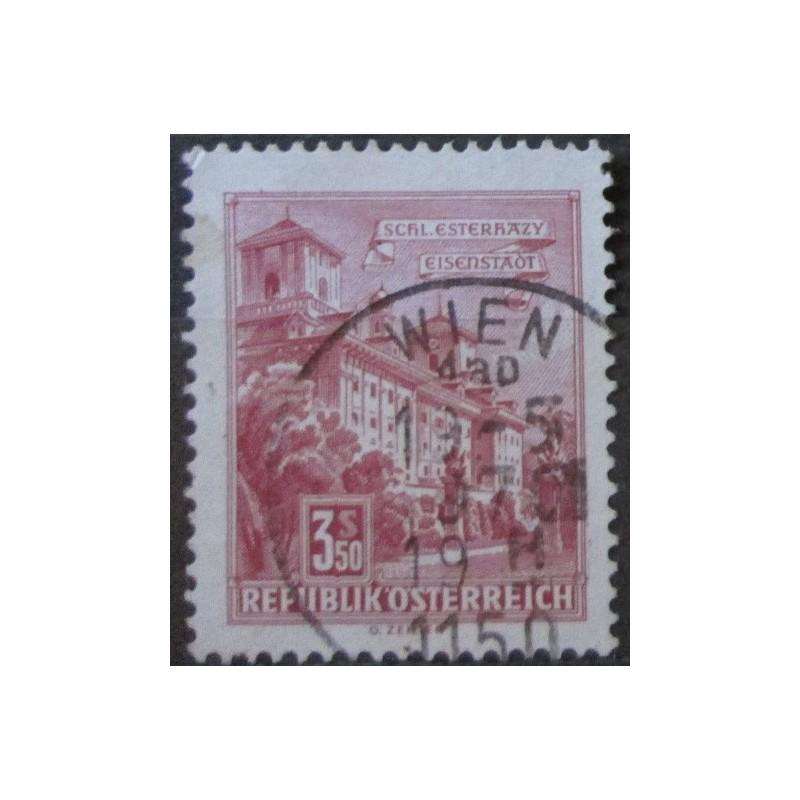 Rakouská známka 3.50S