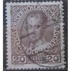 Rakouská známka 20