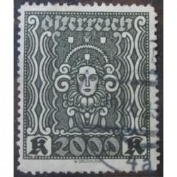 Rakouská známka 2000