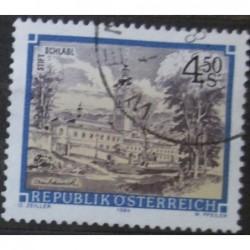 Rakouská známka s4.50