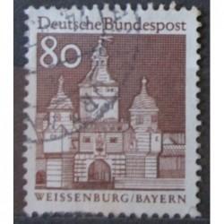 Známka Bundespost p80