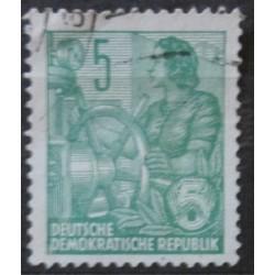 Známka DDR 5