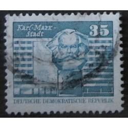 Známka DDR m35
