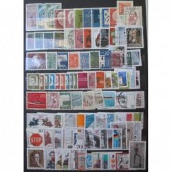 Bundespost partie známek 100 ks