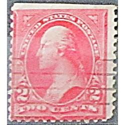 USA známka 2 centy