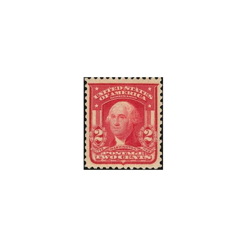 USA známka two cents