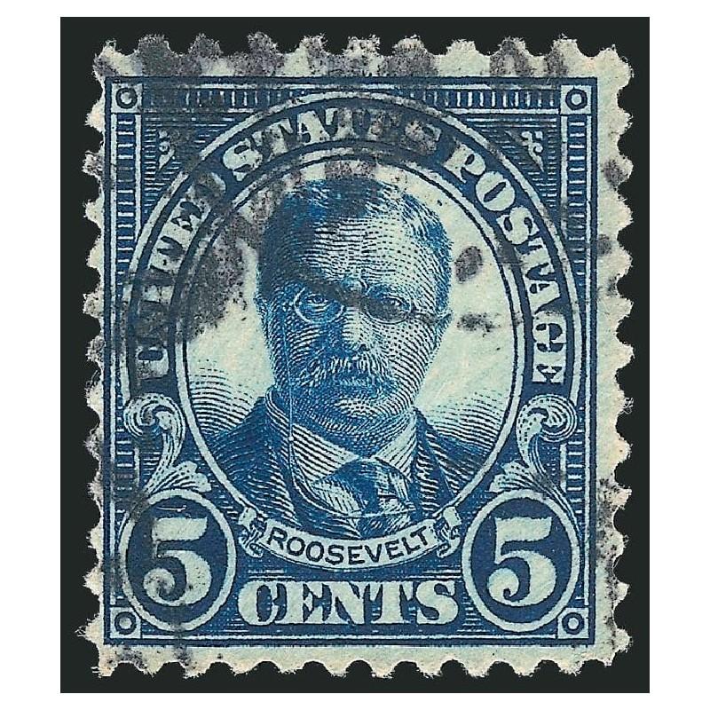 USA známka 5 cents