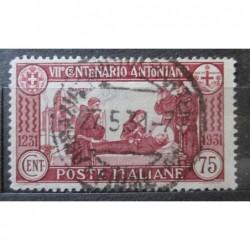 Itálie známka 75