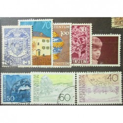 Liechtenstein partie známek 1