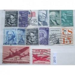 USA partie známek 3