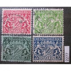 Německo Bayern partie známek 2277