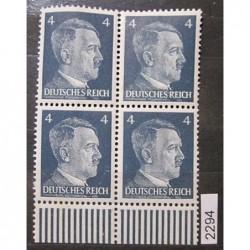 Německo Deutsches Reich partie známek 2294