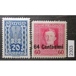 Rakousko partie známek 2303