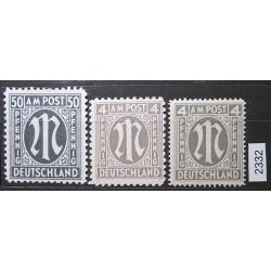 Německo partie známek 2332