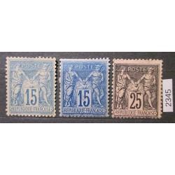 Francie partie známek 2345