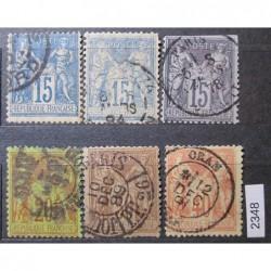 Francie partie známek 2348