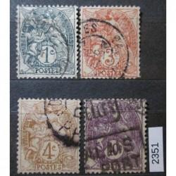 Francie partie známek 2351