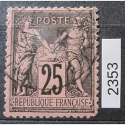 Francie partie známek 2353
