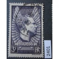 Francie razítkovaná známka 2400