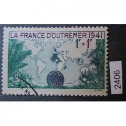 Francie razítkovaná známka 2405
