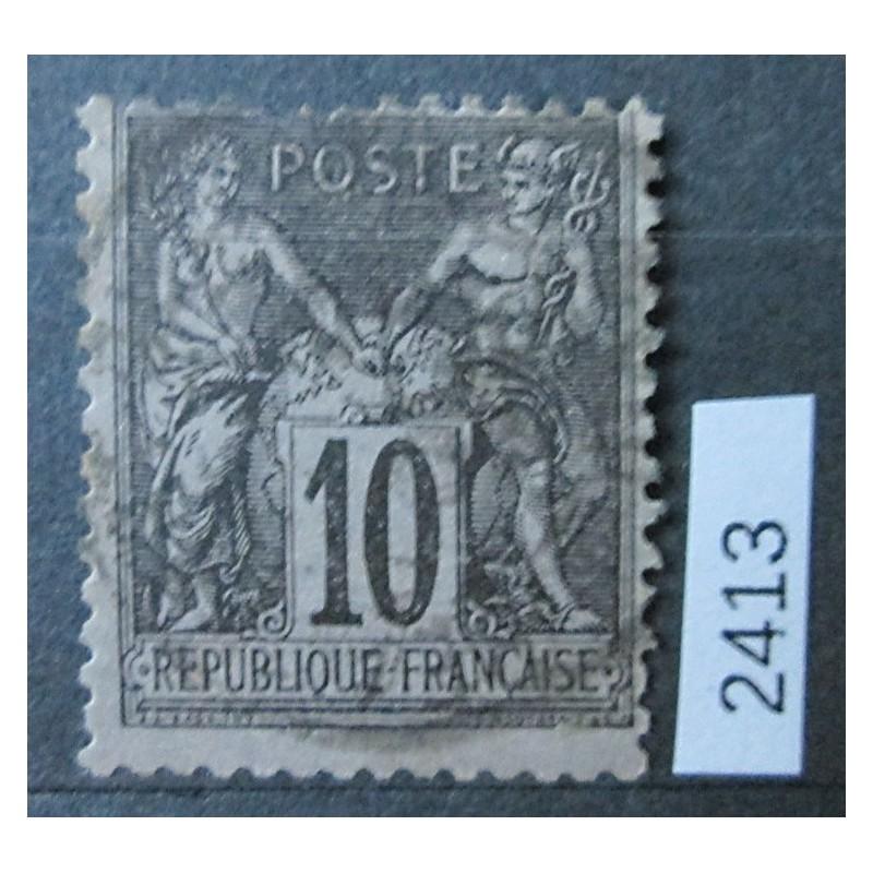 Francie razítkovaná známka 2412