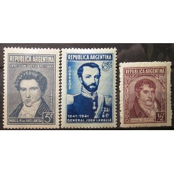 Argentina partie známek 3012