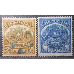 Chile Set Stamps 3029