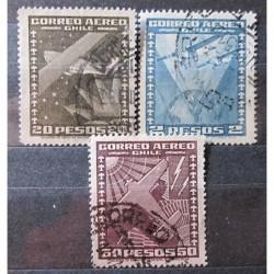 Chile partie známek 3030