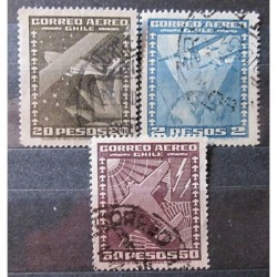 Chile Set Stamps 3030