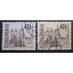 Czechoslovakia chybí modrá Color 3032