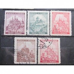 Protectorate Set Stamps 3042