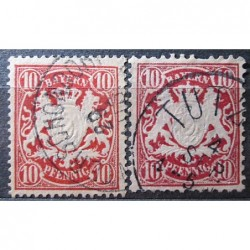 Bayern Stamps 3172 odstín