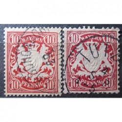 Bayern známky 3172 odstín
