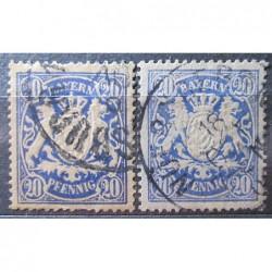 Bayern Stamps 3174 odstín