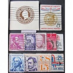 USA známky 3198