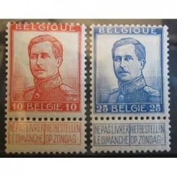 Belgie známky 2435