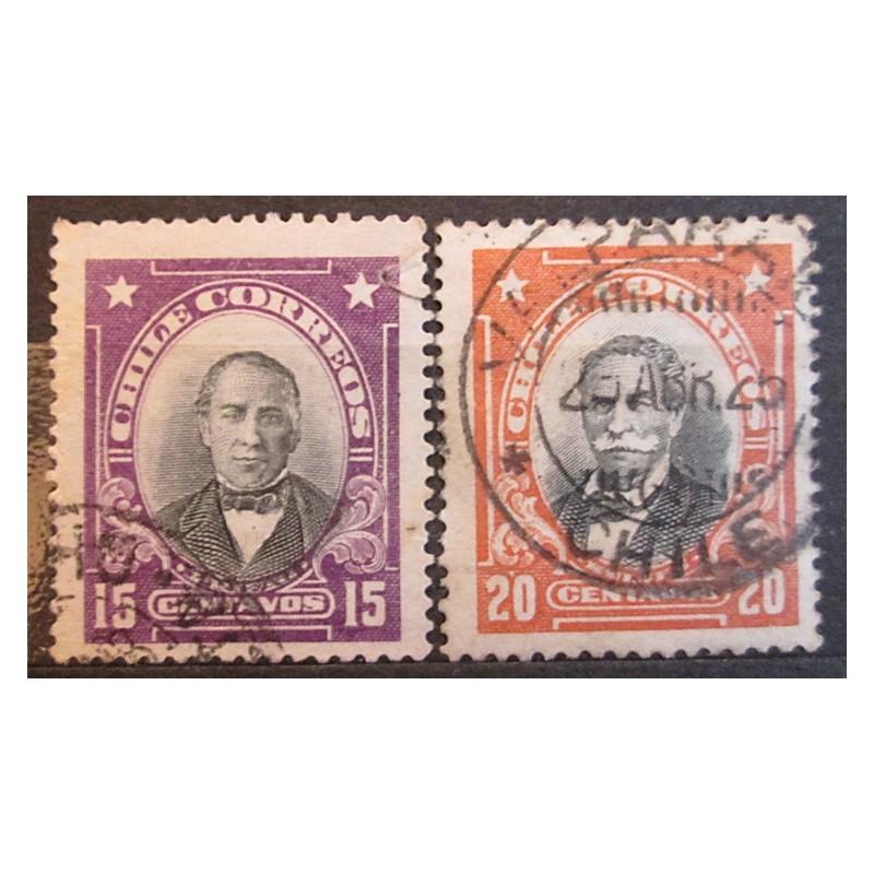 Chile známky 2498