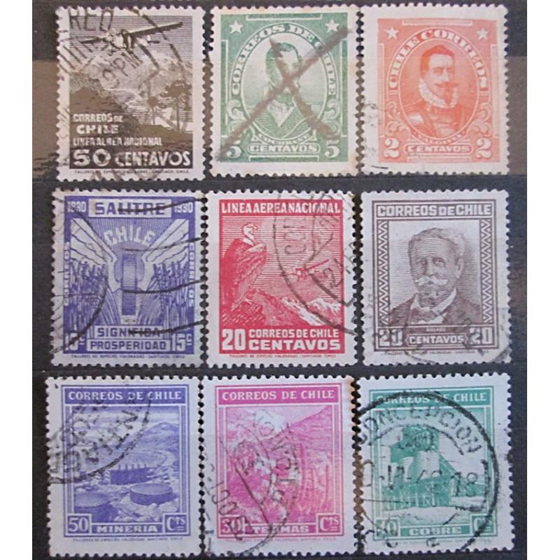 Chile známky 2500