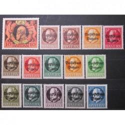 Bayern známky 4123