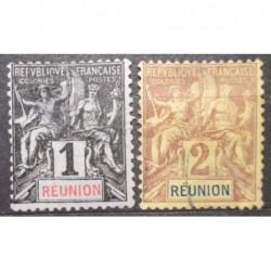 Reunion známky 4139