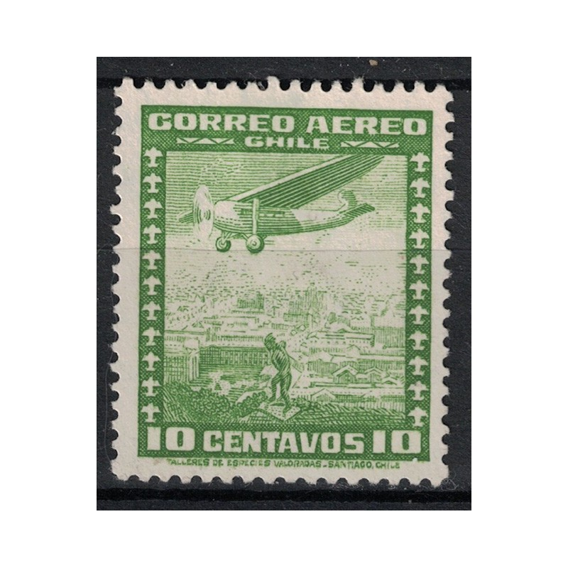 Chile Známka 5057