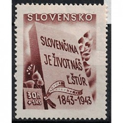 Slovensko Známka 6348