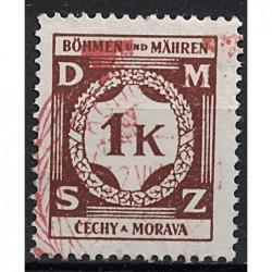 Protektorát Známka 6368