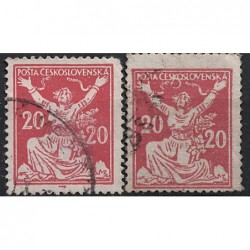 Československo Známka 6501