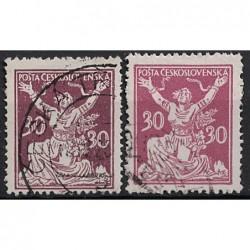 Československo Známka 6502