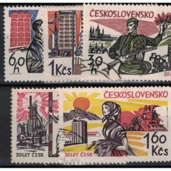 Československo Známka 6643