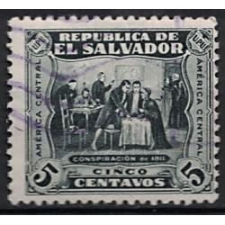 Salvador Známka 6858