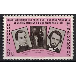 Salvador Známka 6861