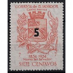 Salvador Známka 6864